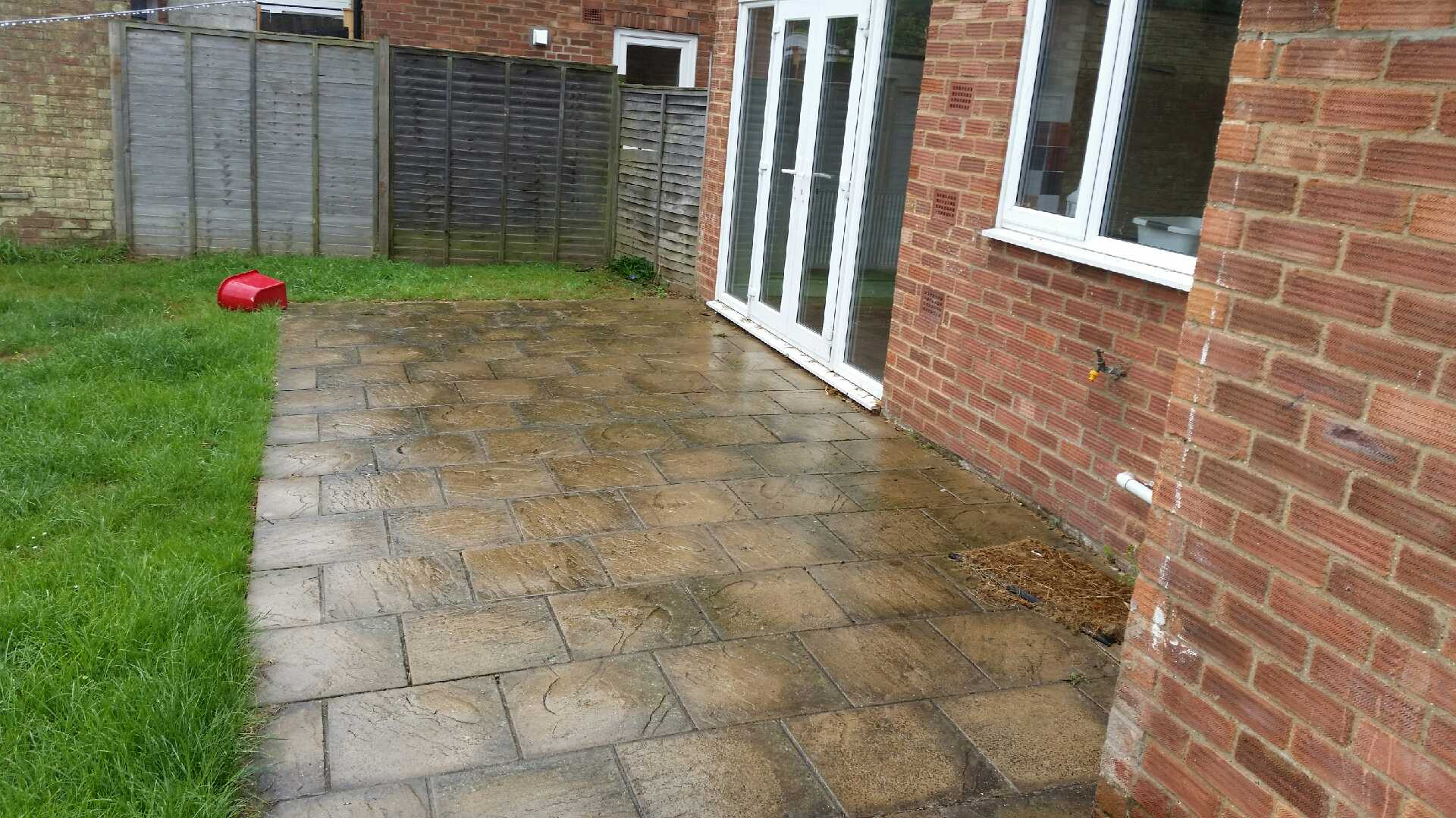 ExteriShine Recent Work - Paving Slabs - Before