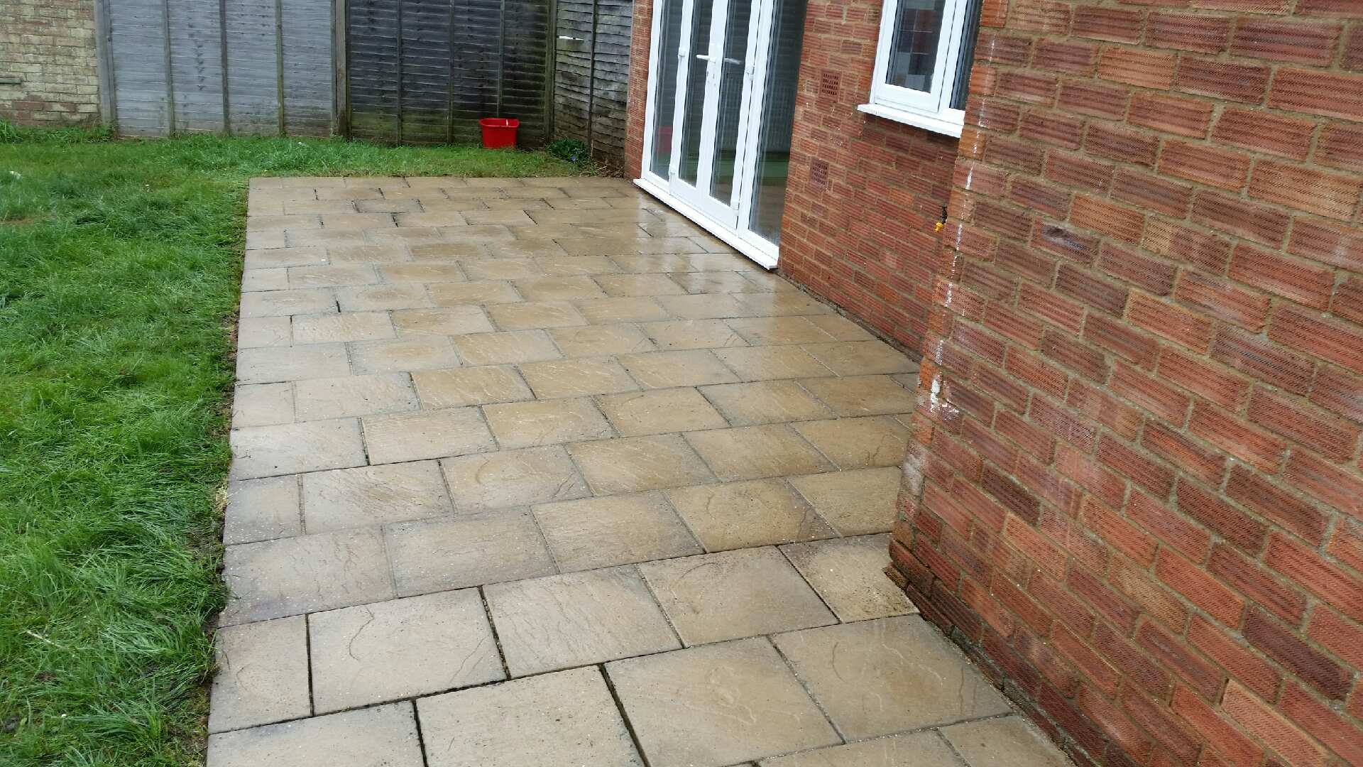 ExteriShine Recent Work - Paving Slabs - After